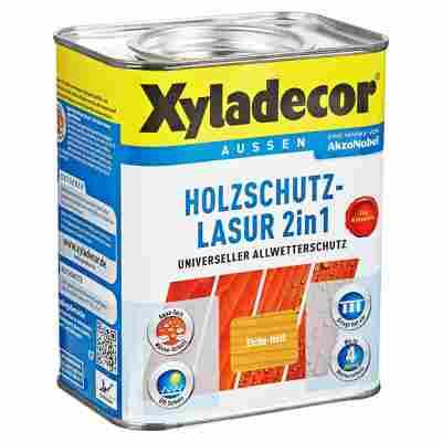 Holzschutzlasur 2in1 eichefarben hell 0,75 l