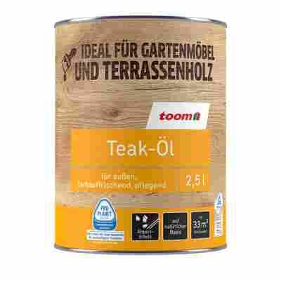 Teak-Öl farblos 2500 ml