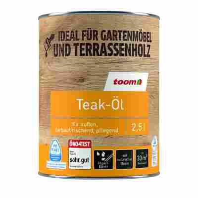Teak-Öl farblos 2,5 l