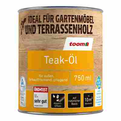 Teak-Öl farblos 750 ml