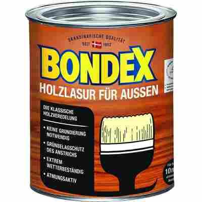 Holzlasur für Außen dunkelgrau 0,75 l
