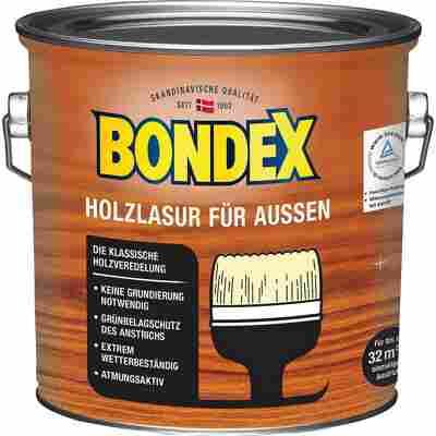Holzlasur für Außen kalkweiß 2,5 l