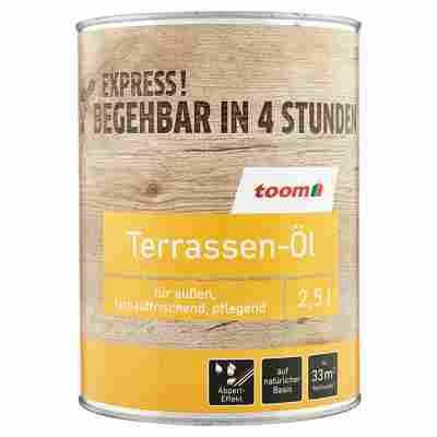 Terrassen-Öl bangkiraiholzfarben 2,5 l
