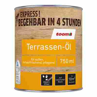 Terrassen-Öl bangkiraiholzfarben 750 ml