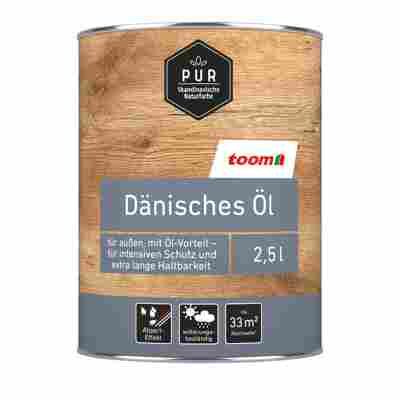 Dänisches Öl 'Pur' natur dunkel 2500 ml