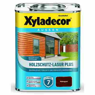 Holzschutz-Lasur 'Plus' mahagoni, 750 ml
