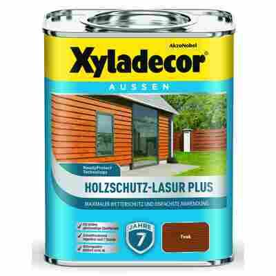Holzschutz-Lasur 'Plus' teak, 750 ml