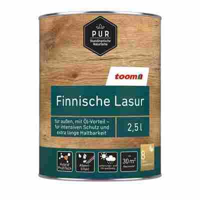 Finnische Lasur nussbaum-dunkel 2,5 l
