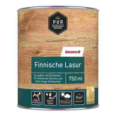 Finnische Lasur nussbaum-dunkel 0,75 l