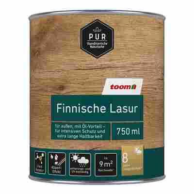 Finnische Lasur dunkelgrau 0,75 l