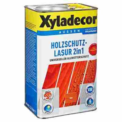 Holzschutzlasur 2in1 teakfarben 2,5 l