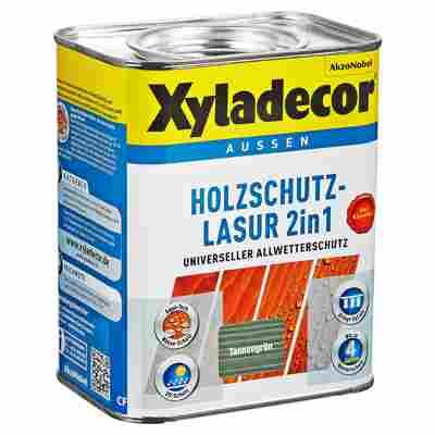 Holzschutzlasur 2in1 tannengrün 0,75 l