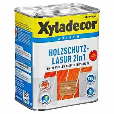 Holzschutzlasur 2in1 eichefarben 0,75 l