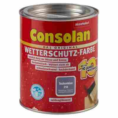 Wetterschutzfarbe taubenblau 750 ml