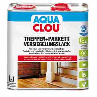 Versiegelungslack für Treppen und Parkett 'Aqua' L10 750 ml