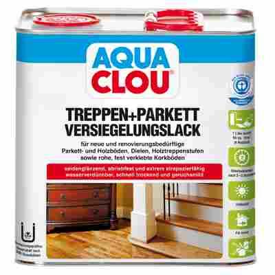 Versiegelungslack für Treppen und Parkett 'Aqua' L10 2,5 l