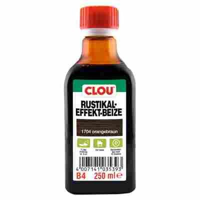 Clou Rustikal-Effekt-Beize orangebraun 250 ml
