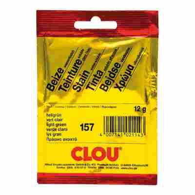 Clou Wasserbeize Pulver hellgrün 12 g