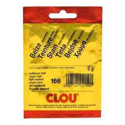 Clou Wasserbeize Pulver nussbaumfarben hell 5 g