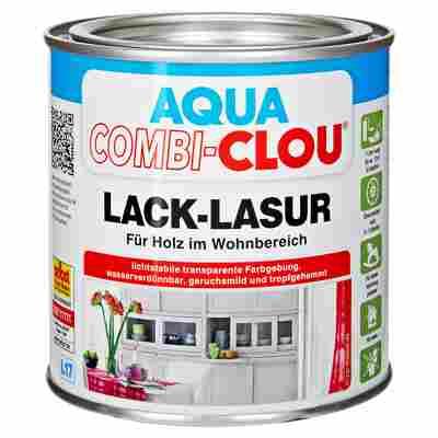 Lacklasur 'Aqua Clou' steingrau 375 ml