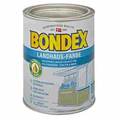 Landhaus-Farbe gartengrün 0,75 l