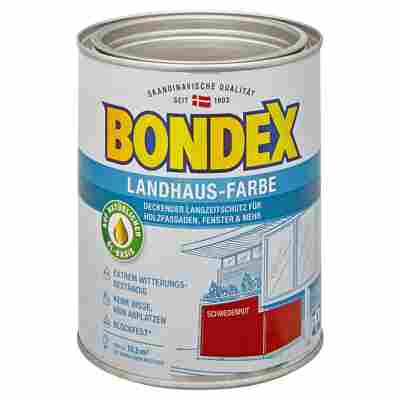 Landhaus-Farbe schwedenrot 0,75 l