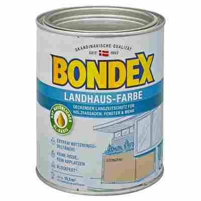Landhaus-Farbe steingrau 0,75 l