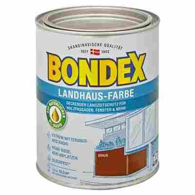 Landhaus-Farbe braun 0,75 l