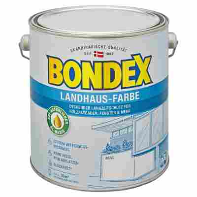 Landhaus-Farbe weiß 2,5 l