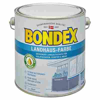 Landhaus-Farbe taubenblau 2,5 l
