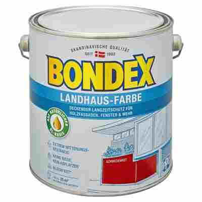 Landhaus-Farbe schwedenrot 2,5 l