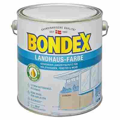 Landhaus-Farbe steingrau 2,5 l