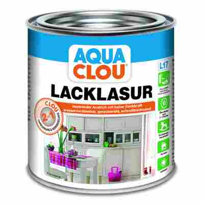 Lacklasur 'Aqua Clou' taubenblau 375 ml