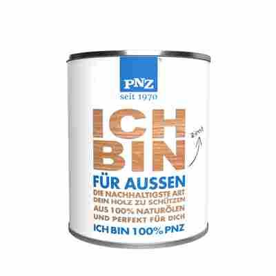 Holzpflegeöl 'Das PNZ ÖL Außen' mohn 750 ml