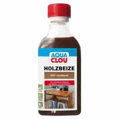 "Clou Holzbeize ""Aqua"" nussbaumfarben 250 ml"