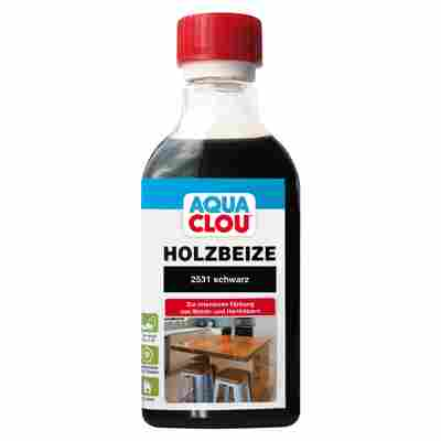 """Clou Holzbeize """"Aqua"""" schwarz 250 ml"""