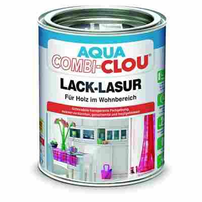 Lacklasur 'Aqua Clou' dunkelnussbraun 375 ml