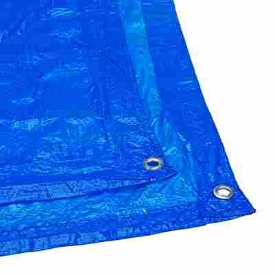 Gewebeplane Standard blau 6 x 4 m