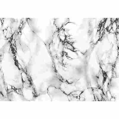 Klebefolie 'Marmi' weiß/grau 200 x 45 cm