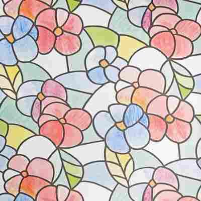 Glasfolie 'Lisboa' 150 x 45 cm