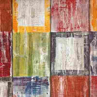 Klebefolie 'Bahia' bunt 200 x 45 cm