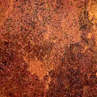 Klebefolie 'Metallic' Rost Avellino 150 x 45 cm