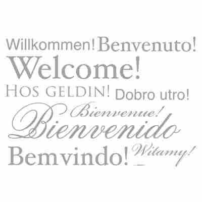 Komar Walltattoo 'Welcome' 50 x 70 cm
