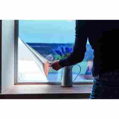 Spiegel-Sichtschutzfolie silber 150 x 90 cm