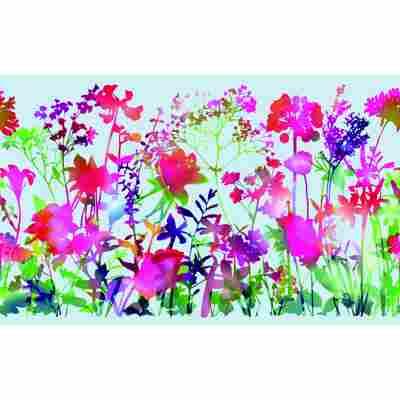 Sichtschutzfolie 'Static Premium' miraflores-mehrfarbig 150 x 45 cm