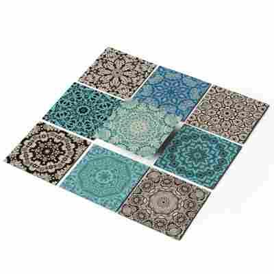 Fliesenaufkleber-Set 'Marokkanisch' 10 x 10 cm