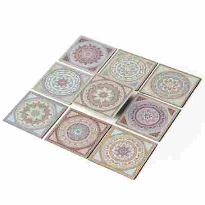 Fliesenaufkleber-Set 'Mosaik Afrika' 10 x 10 cm