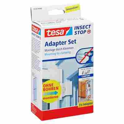 Insect Stop Adapterset für Alu-Comfort-Tür weiß