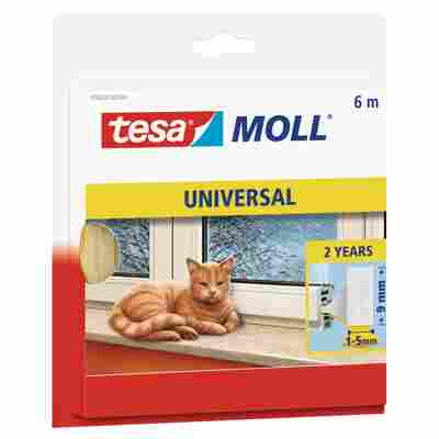 Tesa Schaumstoffdichtung 'tesamoll® Universal' 0,6 x 0,9 x 600 cm