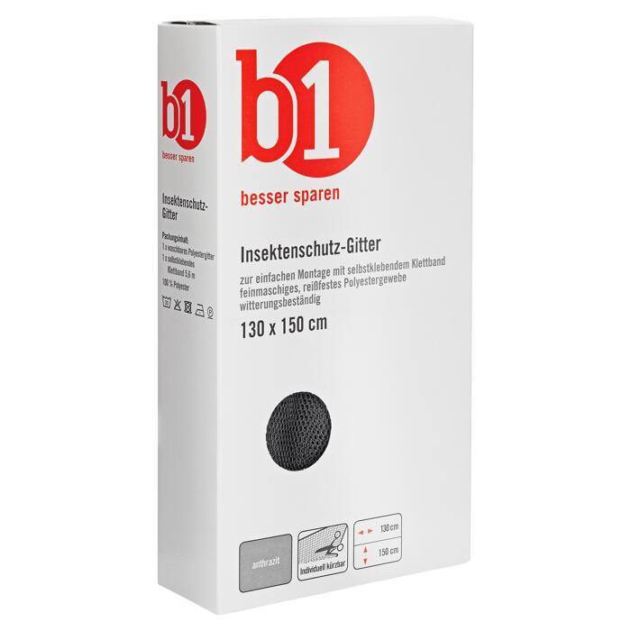 B1 Insektenschutzgitter Fenster 150 X 130 Cm Anthrazit ǀ Toom Baumarkt